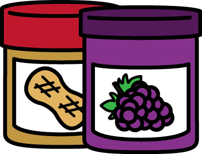 Jelly clipart. Peanut butter and clip
