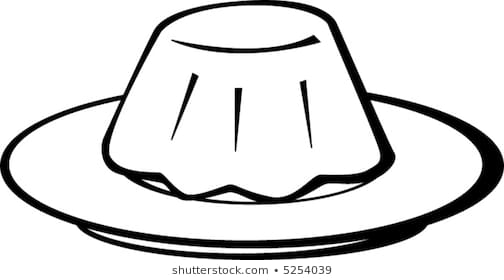 Portal . Jelly clipart black and white