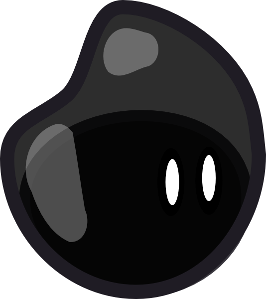 Jelly clipart black and white. Thoughts clip art at