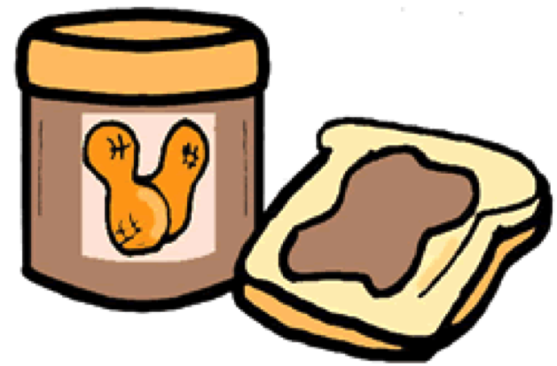Jelly clipart bread clipart. Peanut butter and free