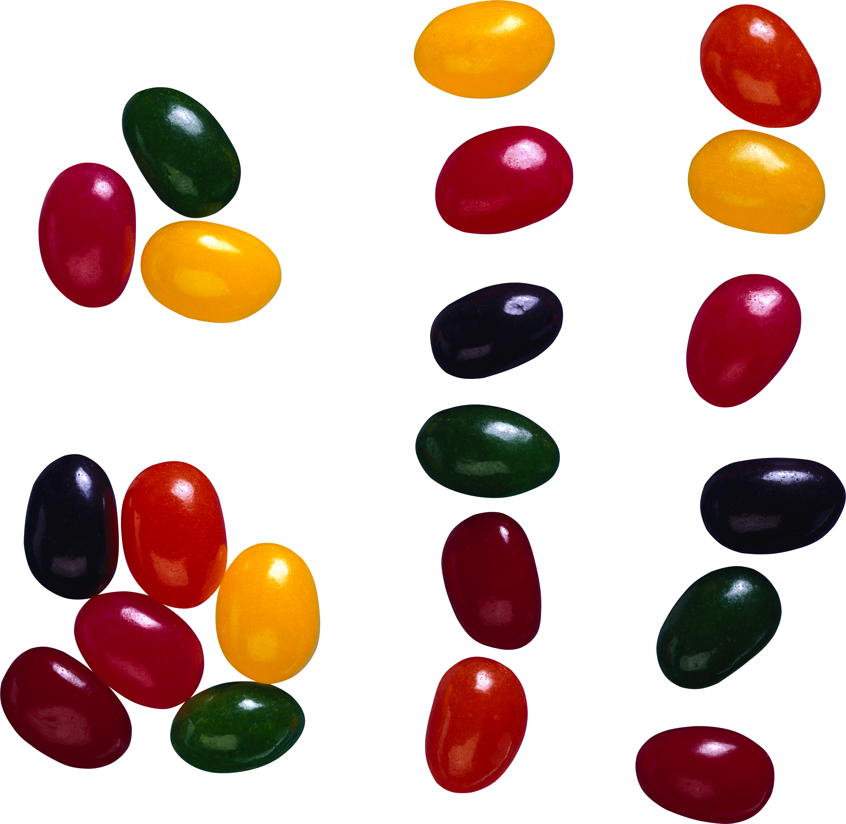 Bean se clip art. Jelly clipart colorful candy