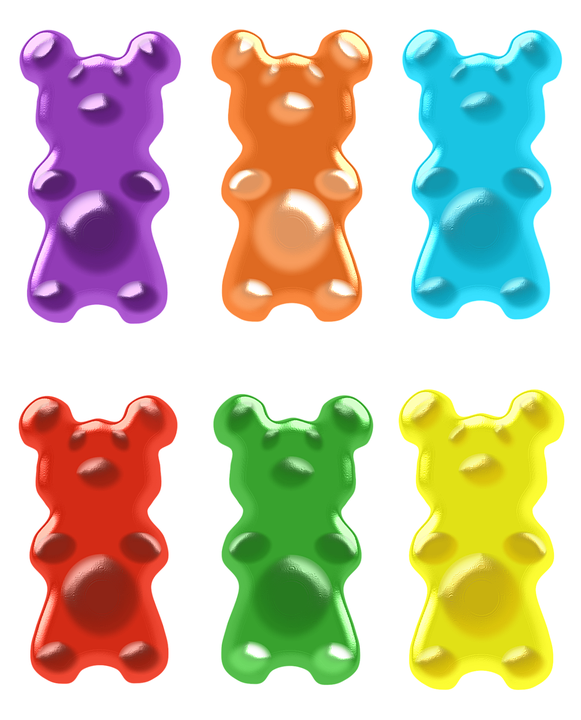 Jelly clipart colorful candy. Collection of free acidulated