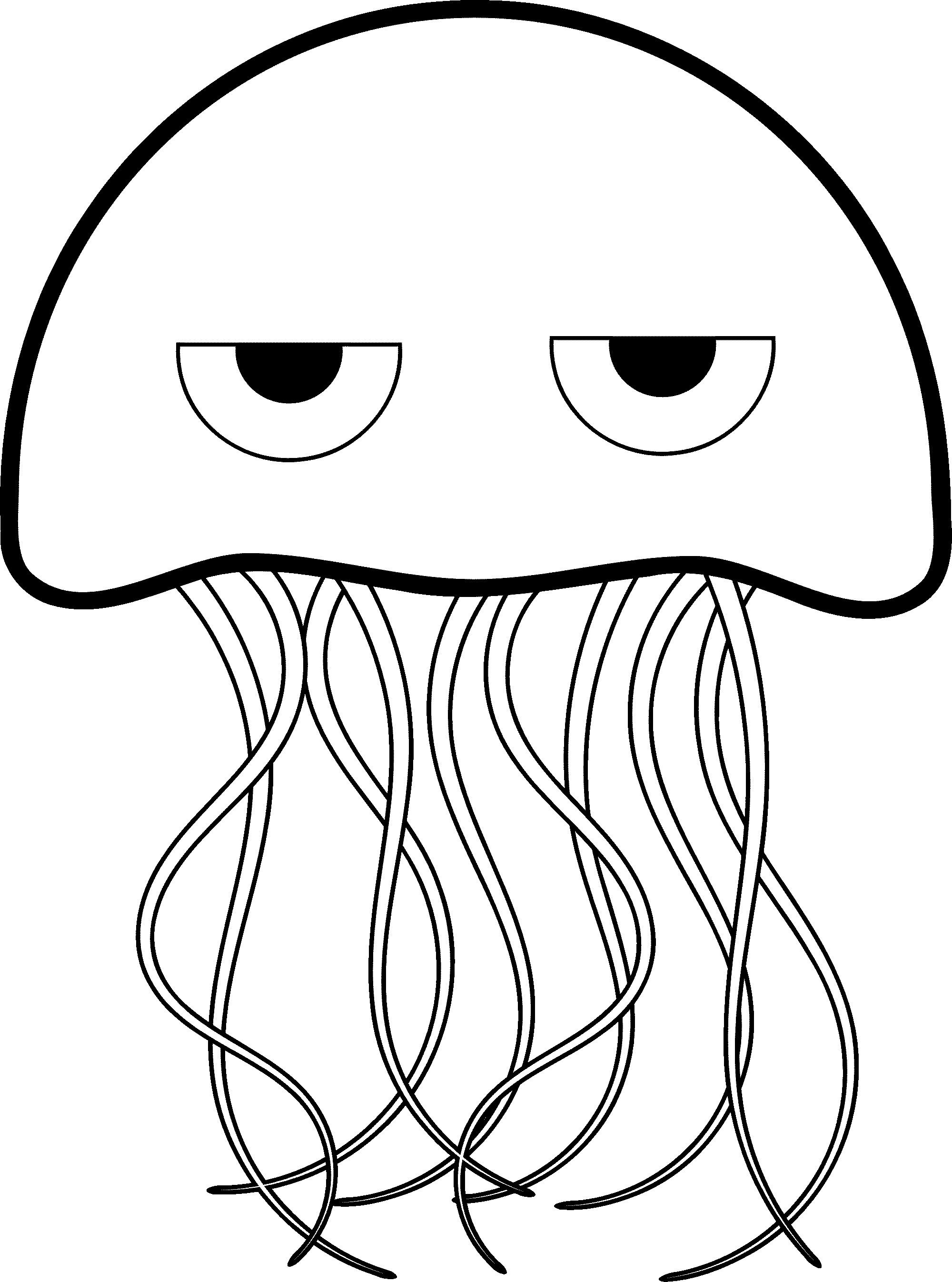Print download cute and. Jelly clipart colouring page