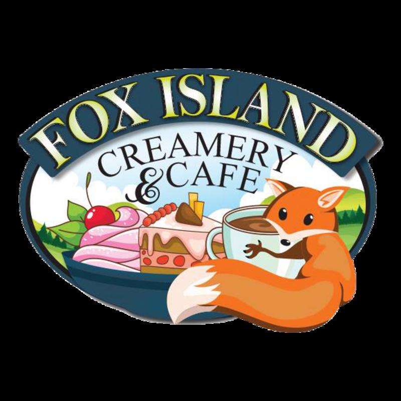 Fox island creamery and. Land clipart empty garden