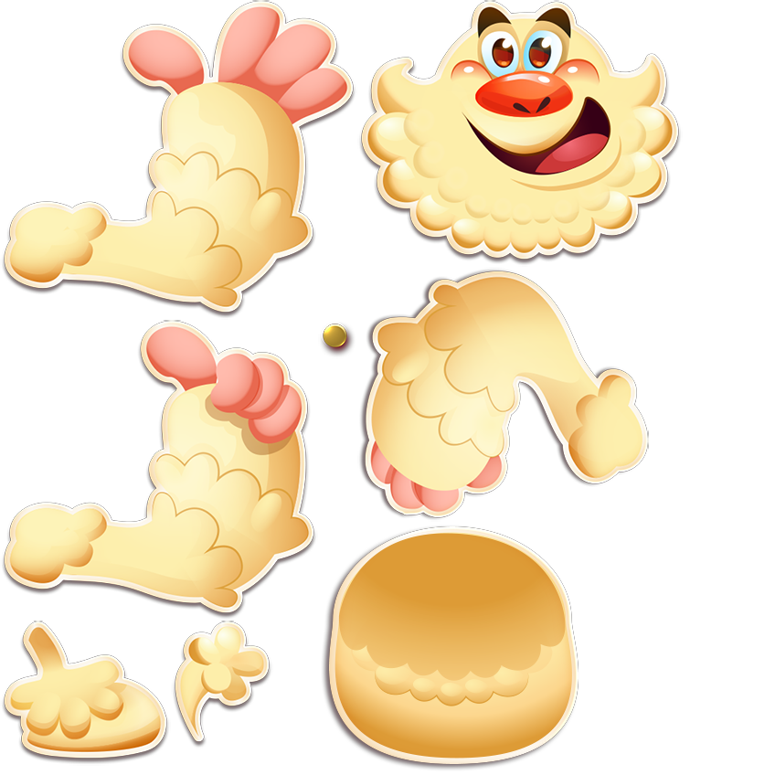 Image yeti png crush. Jelly clipart jelly candy