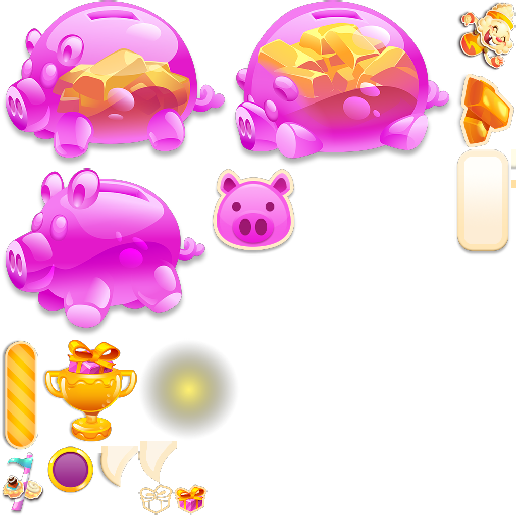 Jelly clipart jelly candy. Image piggy bank sprite