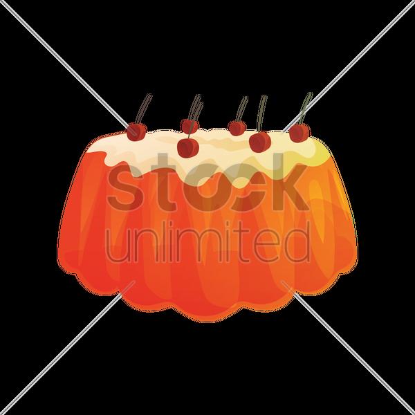 V. Jelly clipart pudding jelly