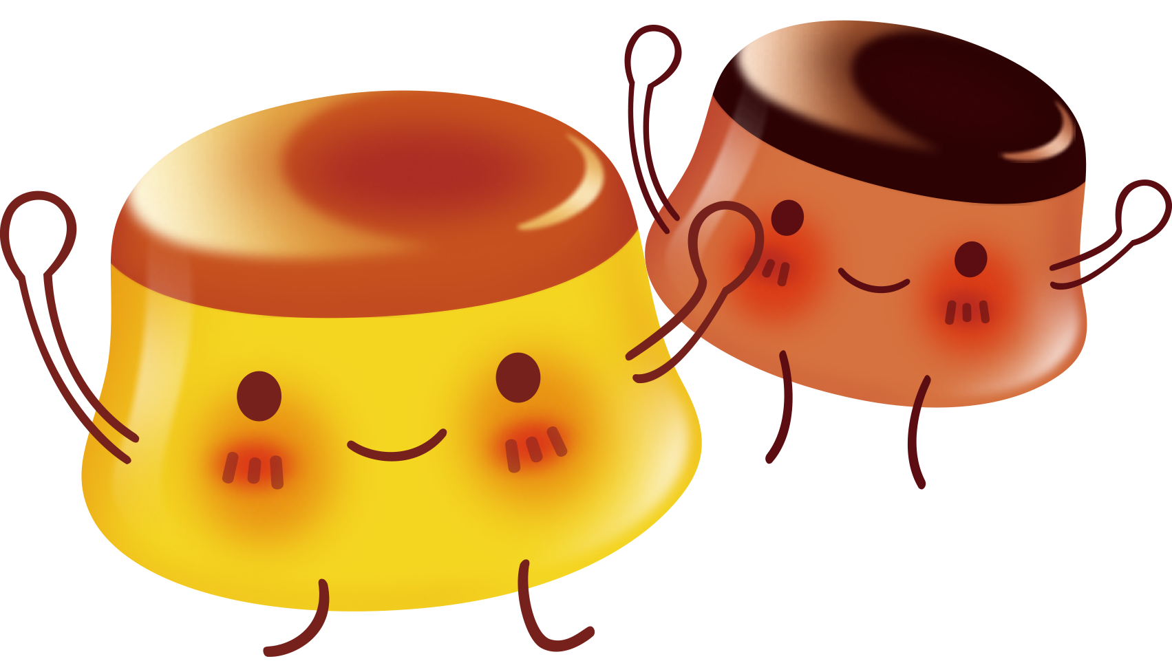Gelatin dessert nata de. Jelly clipart pudding jelly