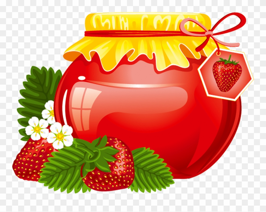 Jelly clipart strawberry jelly. Http zezete centerblog net