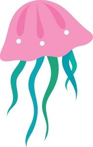 Jelly clipart jelly fish. Jellyfish free clip art