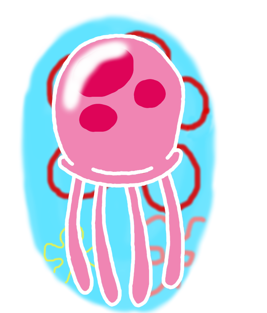 collection of spongebob. Jellyfish clipart obor
