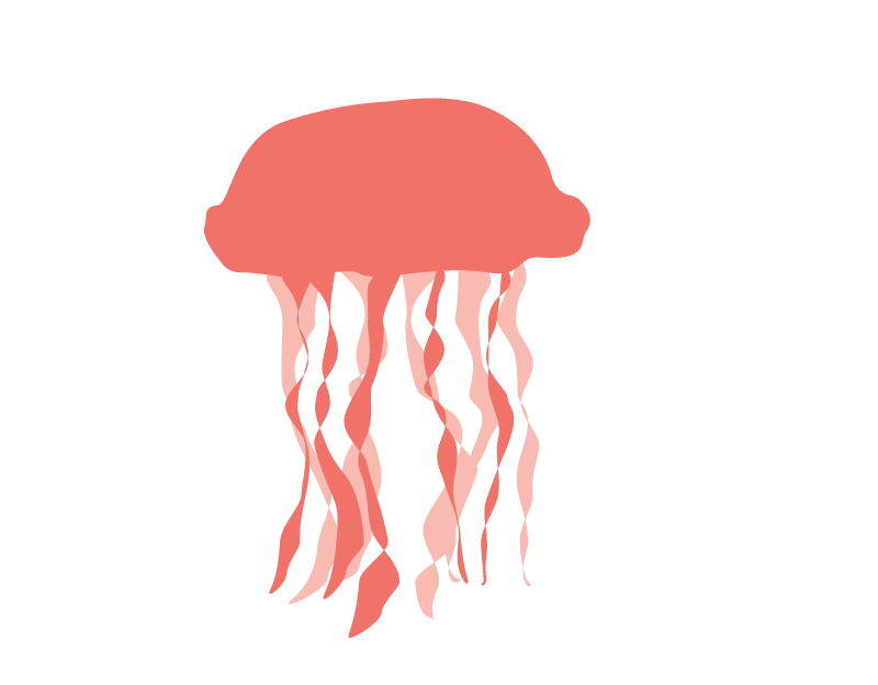 Jellyfish clipart red jellyfish. Png images free download