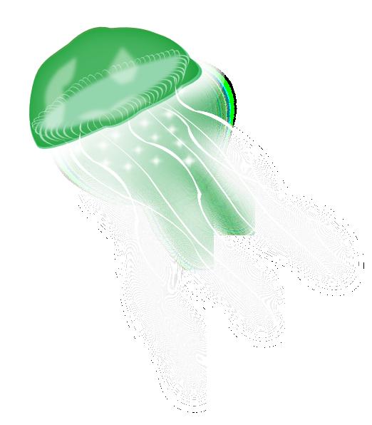Jellyfish clipart vector. Clip art at clker