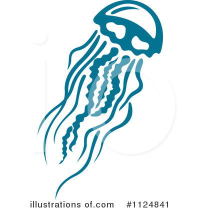 Illustration by tradition sm. Jellyfish clipart vector