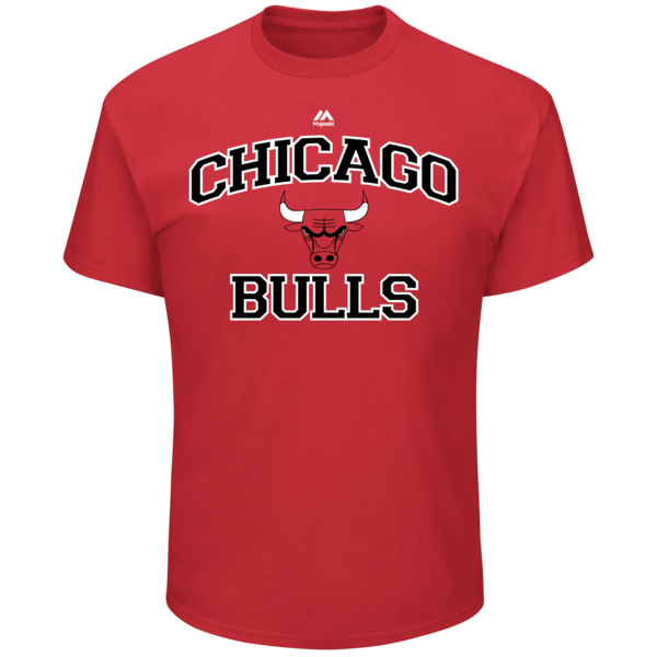 Jersey clipart chicago bulls jersey. Merchandise mens majestic red
