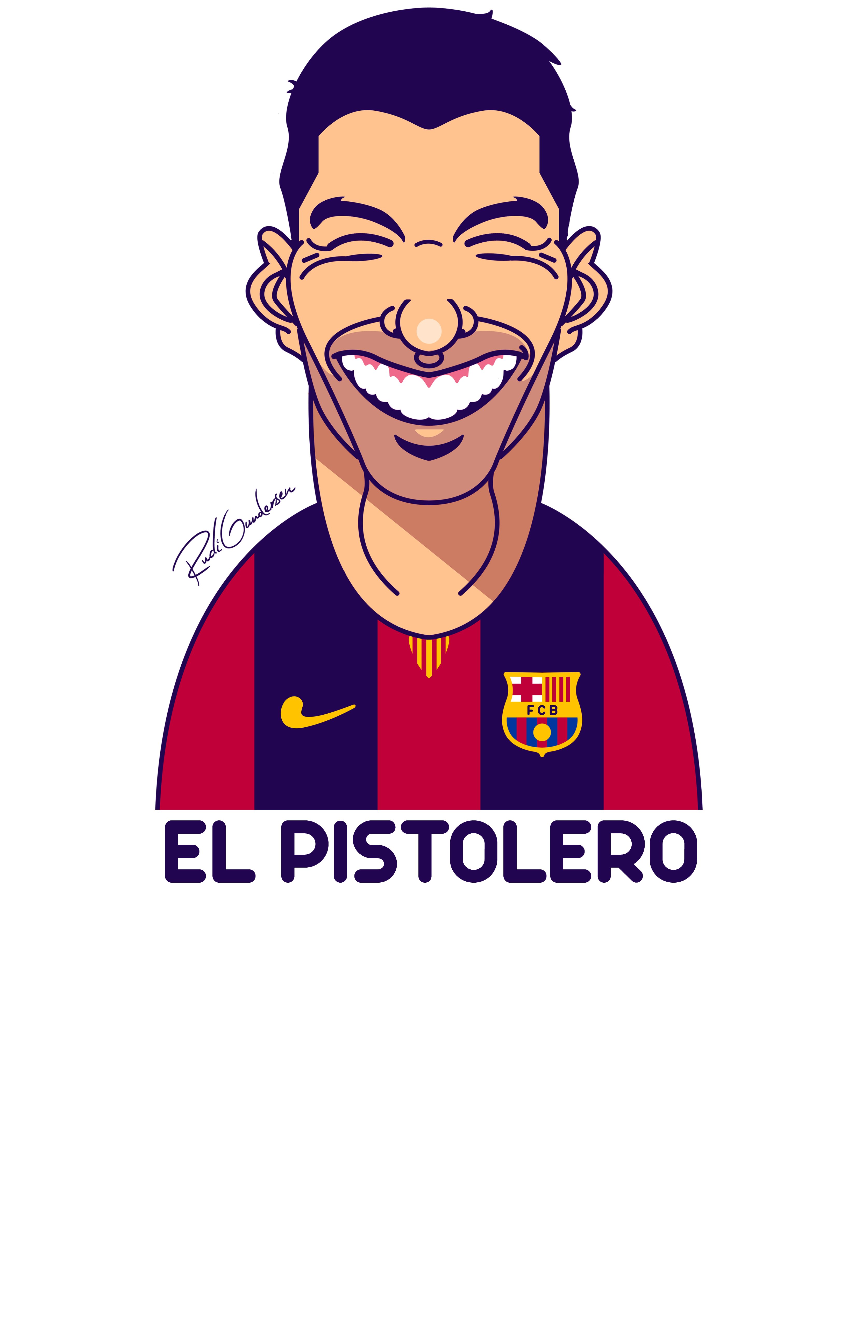 Funny faces on behance. Jersey clipart football fan