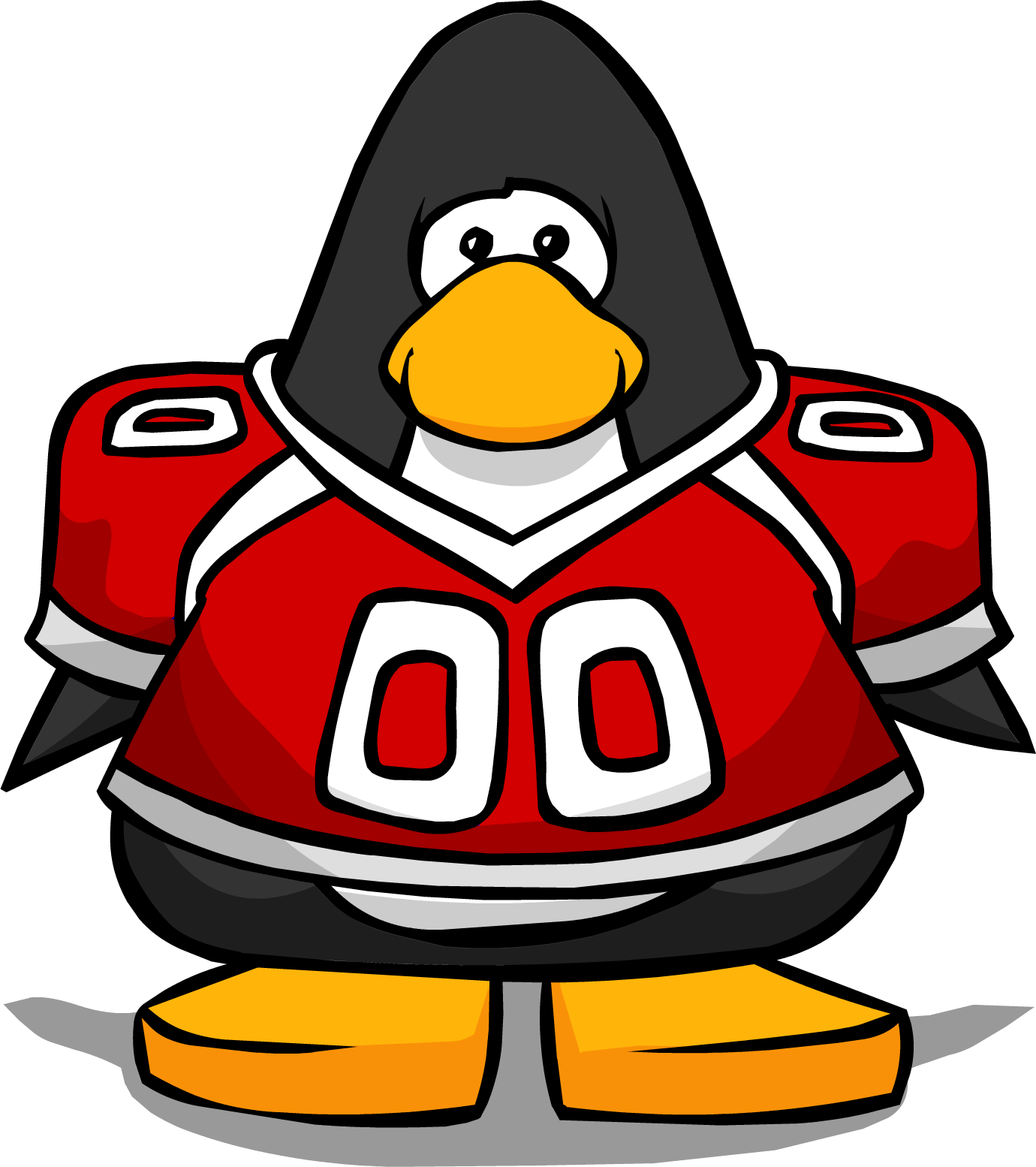 Jersey clipart football fan. Image red from a