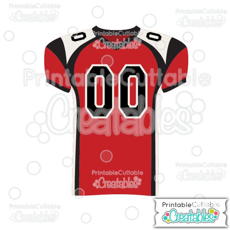 Svg cut files e. Jersey clipart football jersey