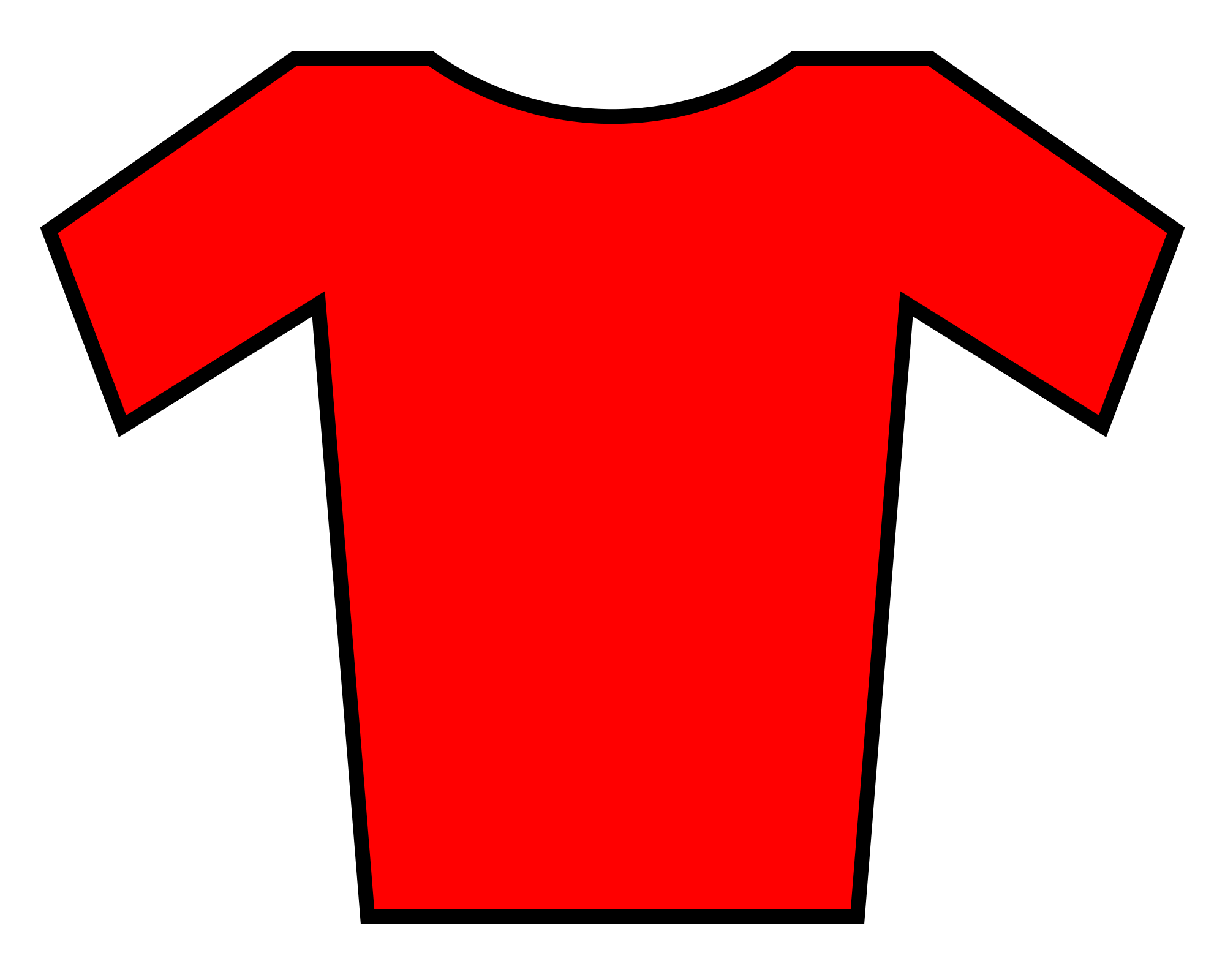 Jersey clipart red jersey. File svg wikimedia commons