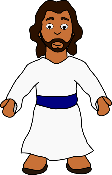 Clip art black and. Jesus clipart