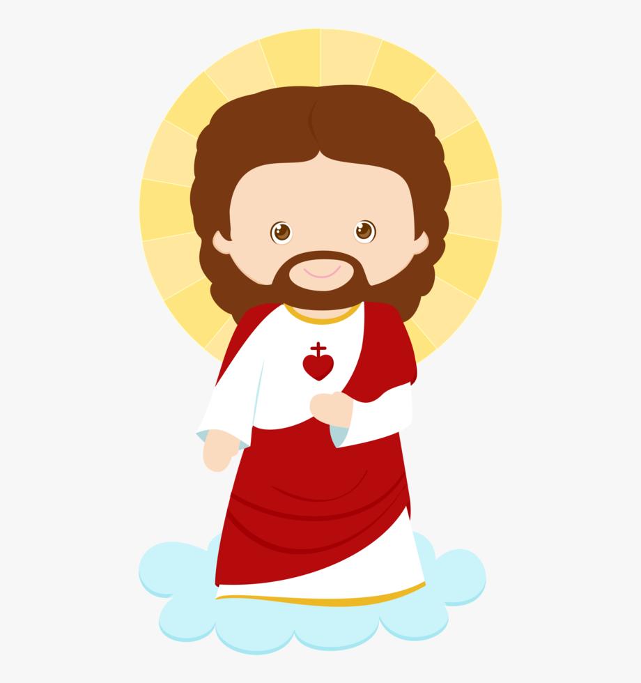 Mar a jos arg. Jesus clipart cartoon