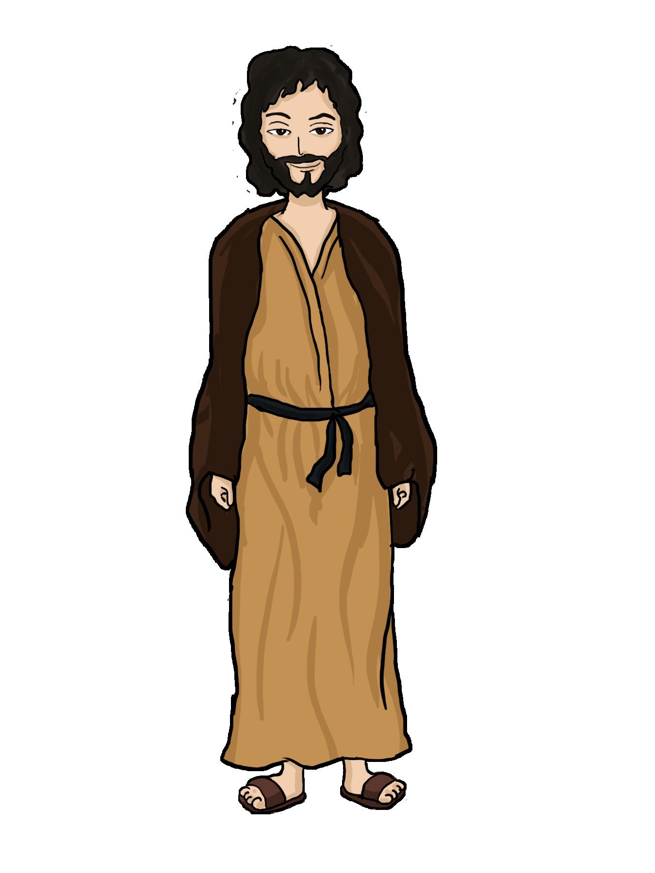 Jesus christ png image. Rabbi clipart animated