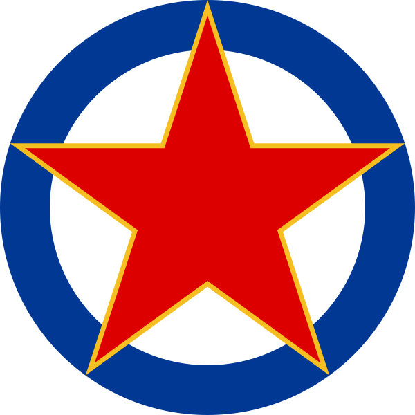 Yugoslav air force combat. Jet clipart airforce