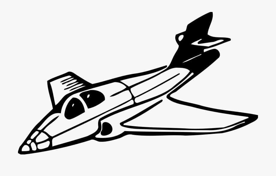 Jet clipart clip art. Free black and white