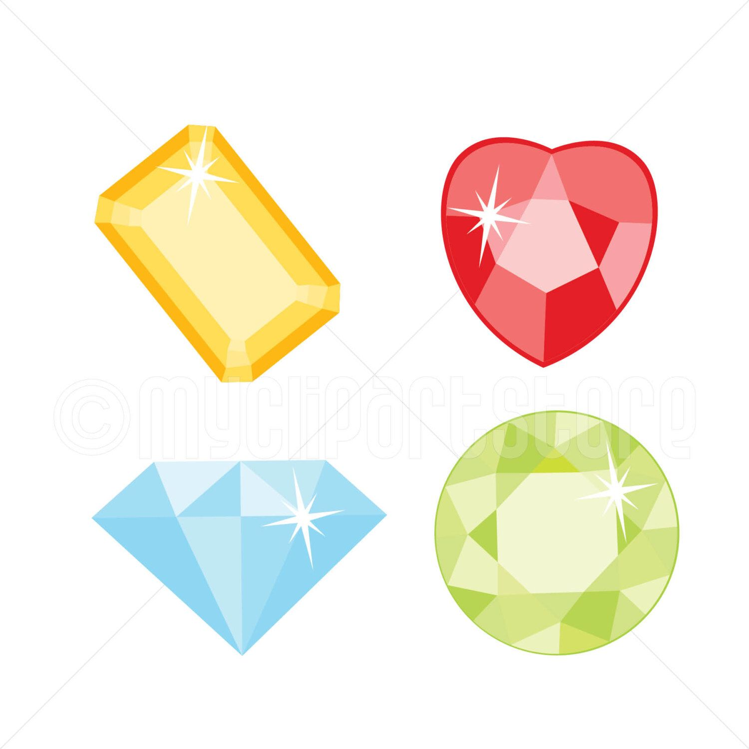 Jewel clipart. Gems and jewels gemstones