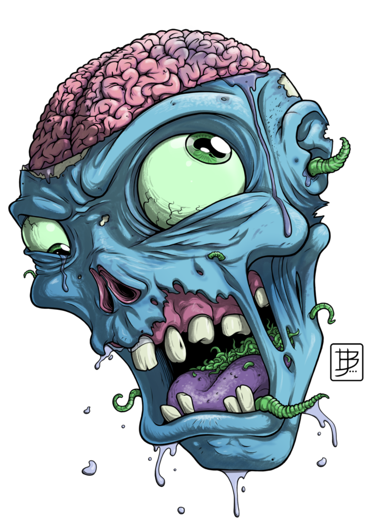 Drawing at getdrawings com. Zombie clipart cartoon baby