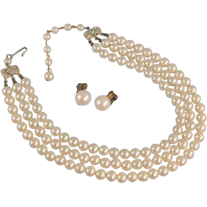 Necklace costume images strand. Jewel clipart pearl earring