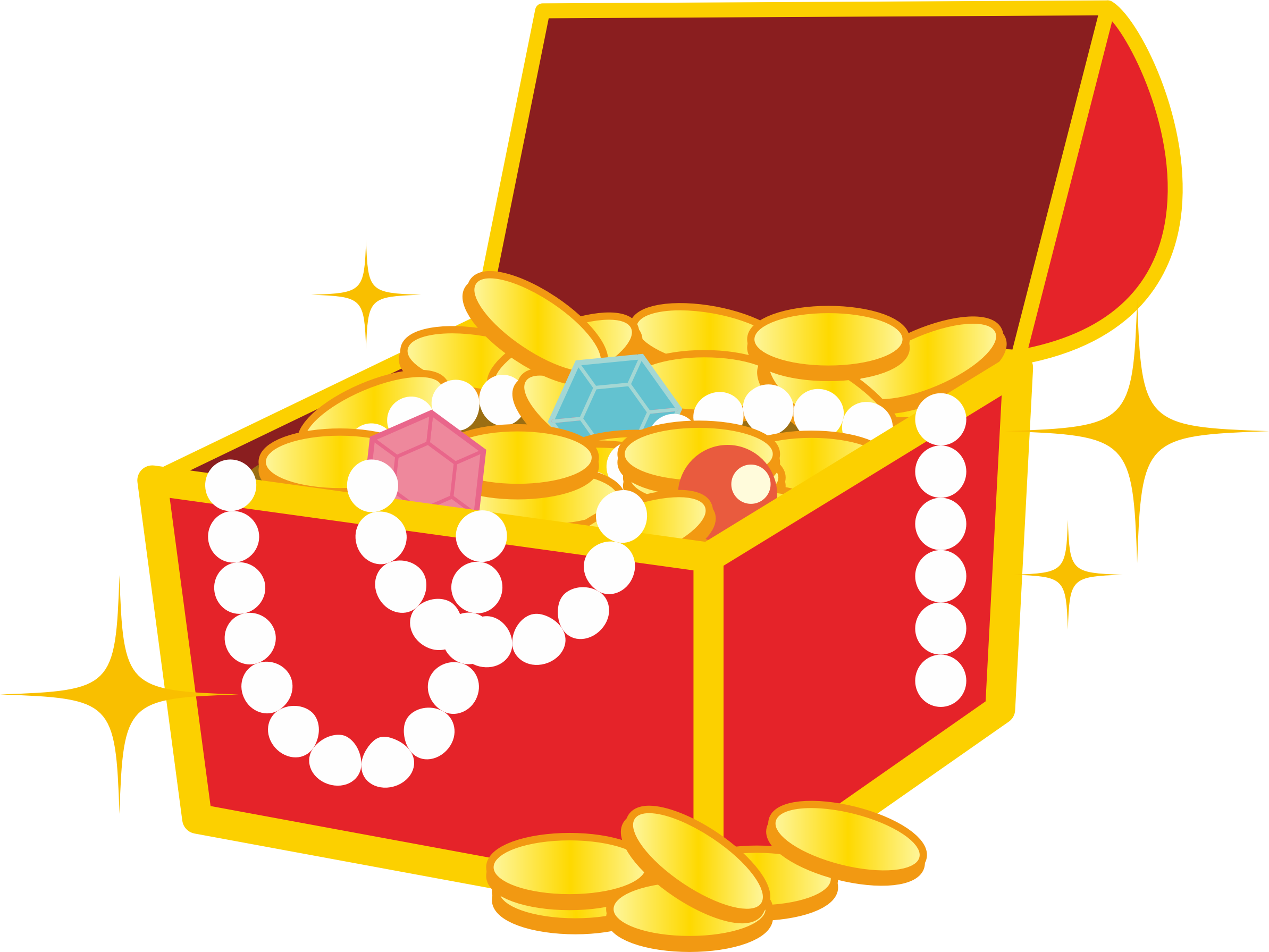 Chest image png. Treasure clipart big