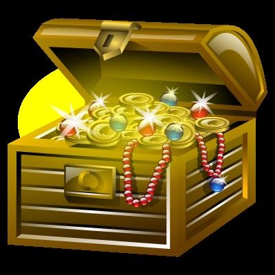 Treasure clipart gold treasure. Download free png transparent