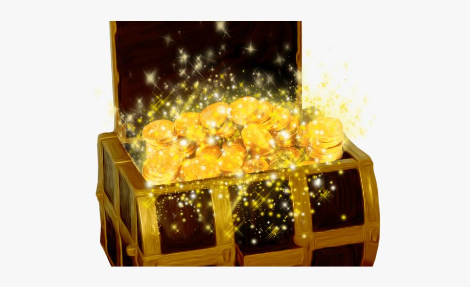 Treasure clipart pile treasure. Ruby gold in box