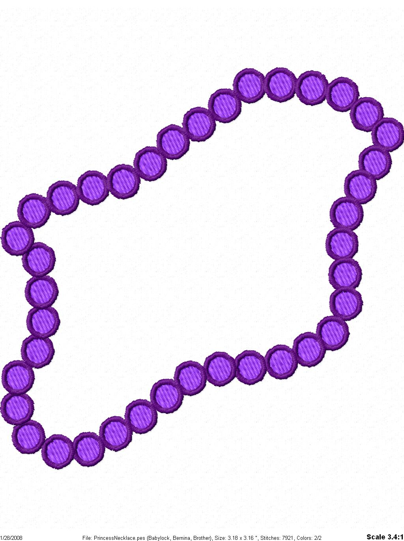 Free cliparts download clip. Necklace clipart purple necklace