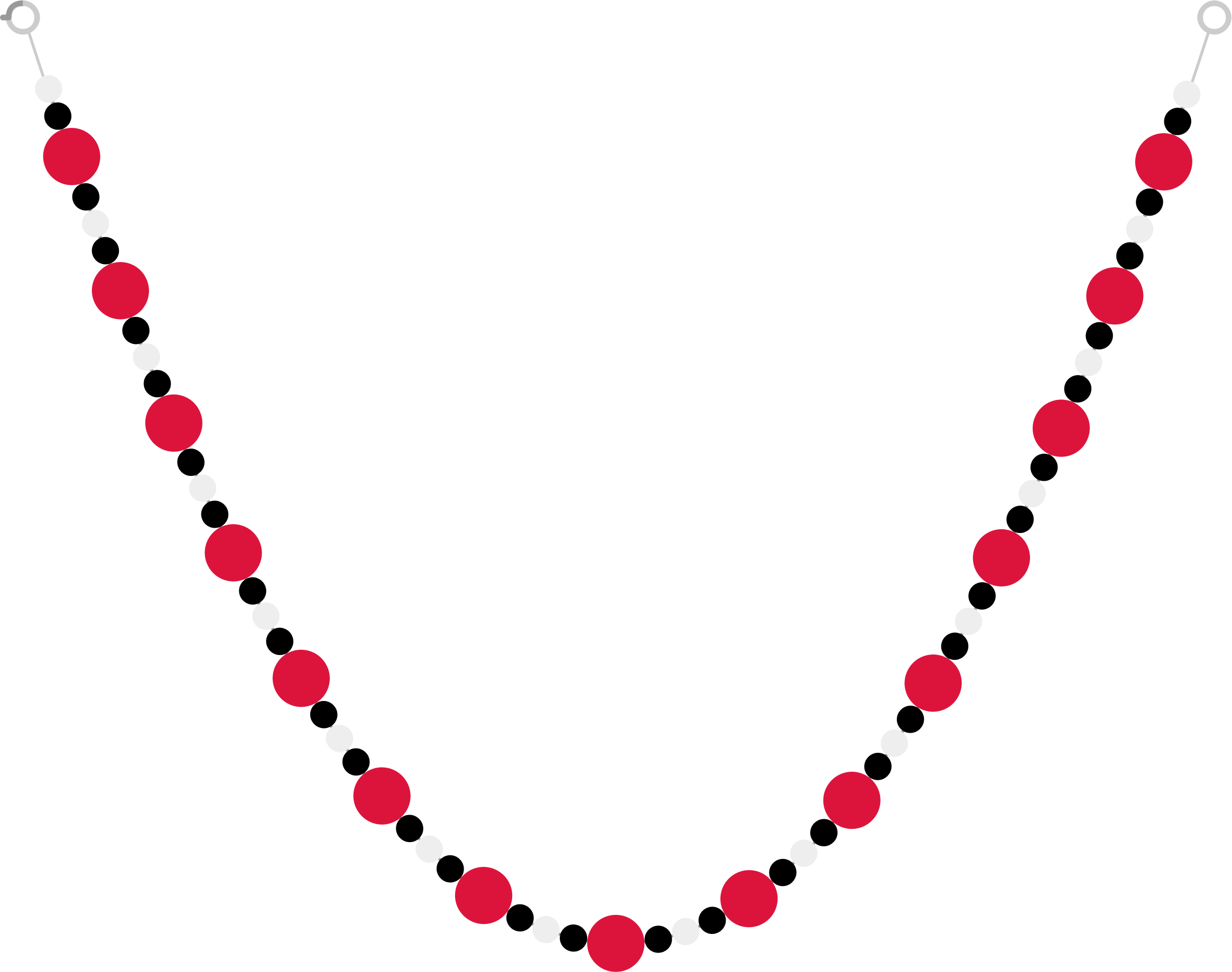 pearl clipart beaded necklace