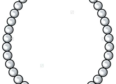 Bead free download best. Necklace clipart cartoon
