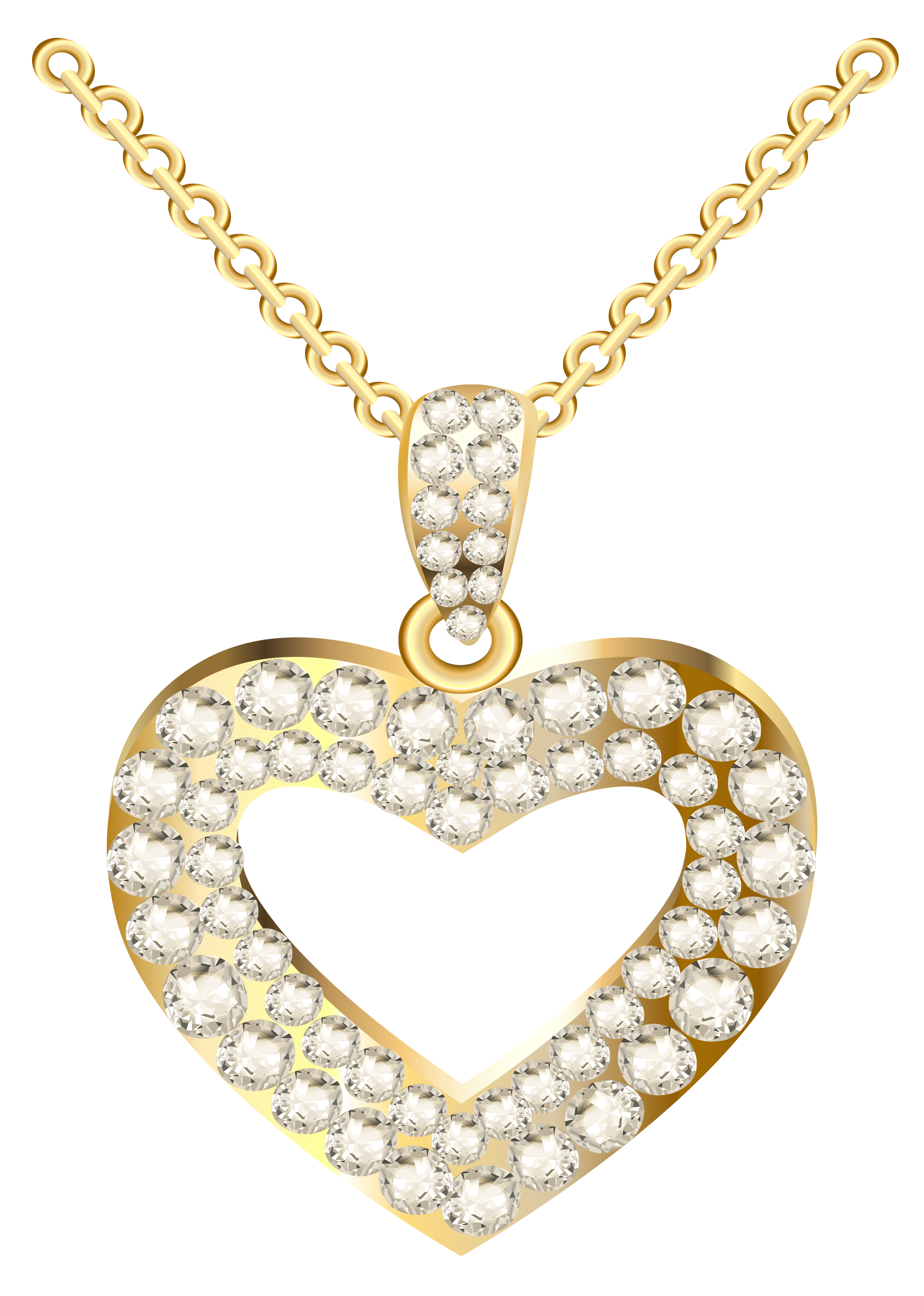 Necklace clipart pendant.  collection of gold