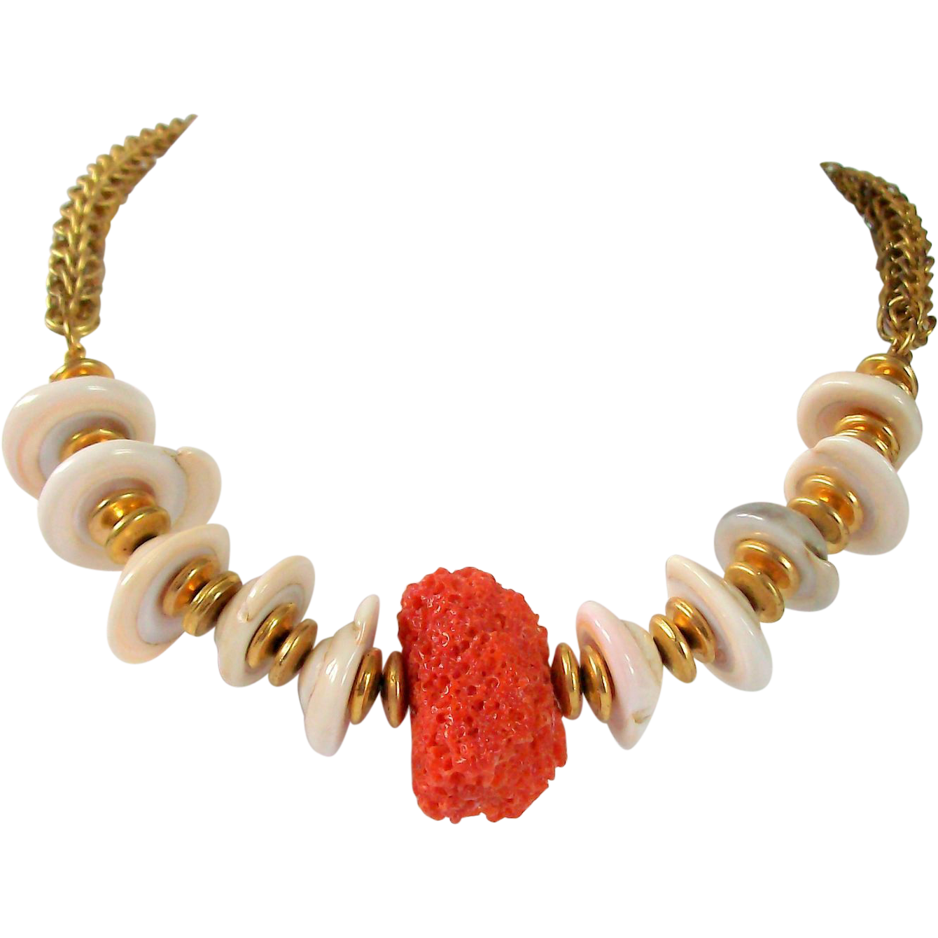 Necklace clipart pearl strand. Signed miriam haskell red