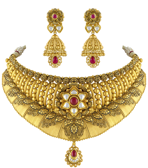 Necklace clipart gold traditional. Patel jewellers home page