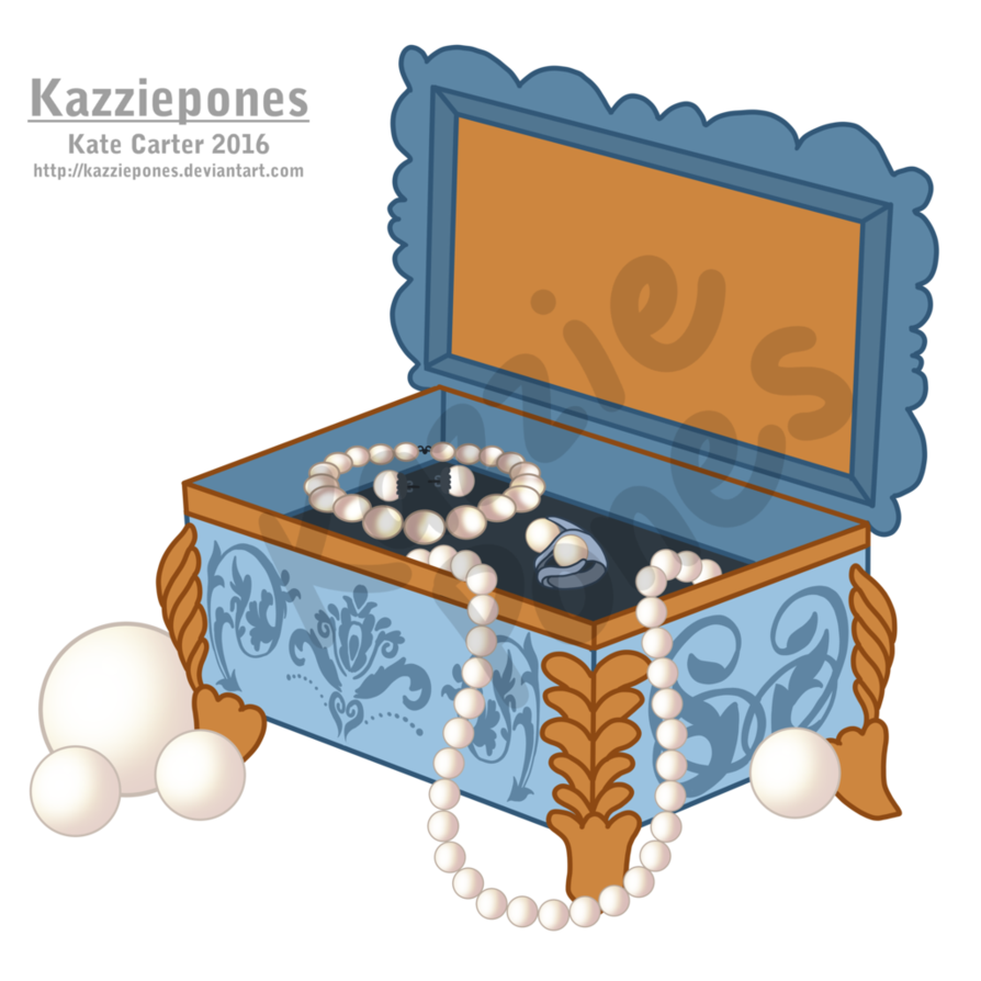 Cutie mark commission box. Treasure clipart jewelry