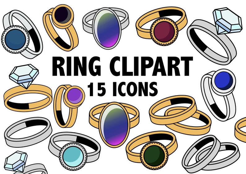 Ring silver gold gemstone. Jewelry clipart jewelry shopping