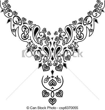 Ornaments clipart jewllery. Free clip art necklace