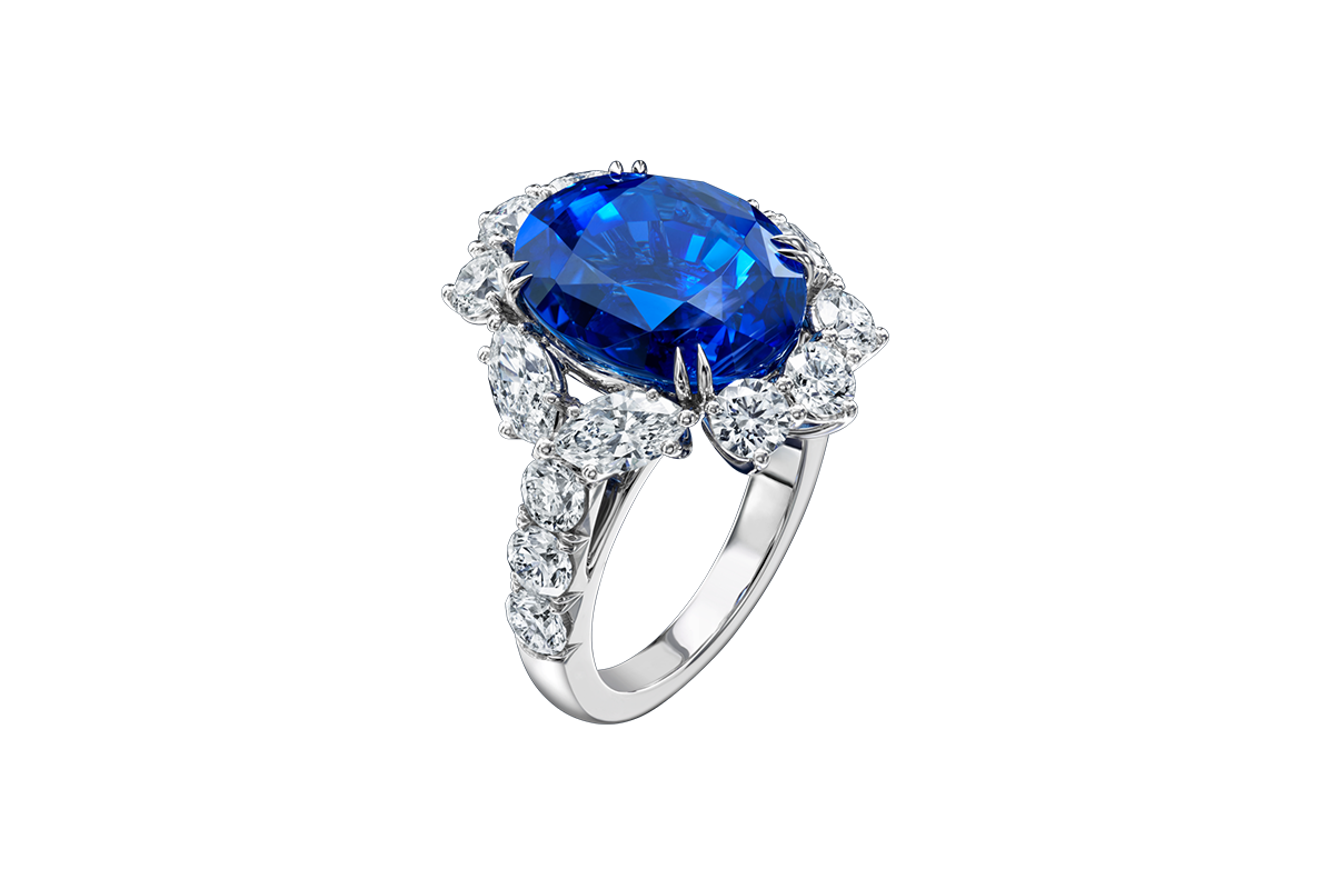 jewelry clipart sapphire ring