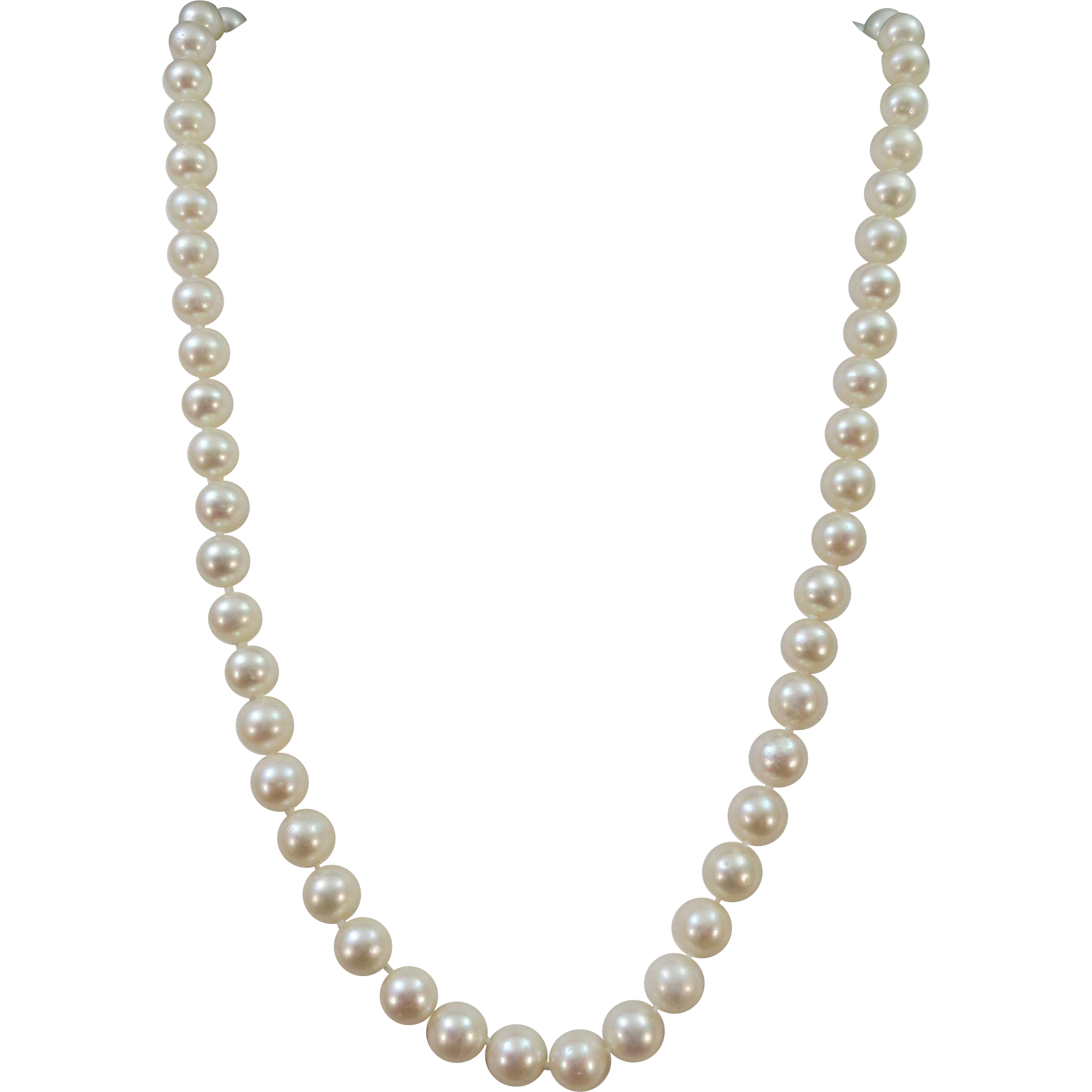 Pure pearl bead earring. Jewelry clipart string