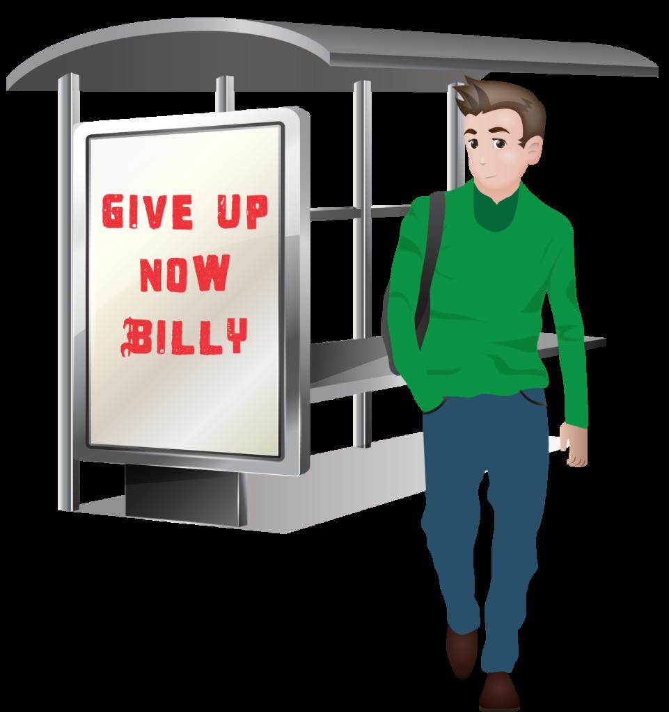 Jobs clipart jobless. Blog forever giveupsign