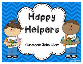 Happy helpers jobs chart. Job clipart kindergarten classroom