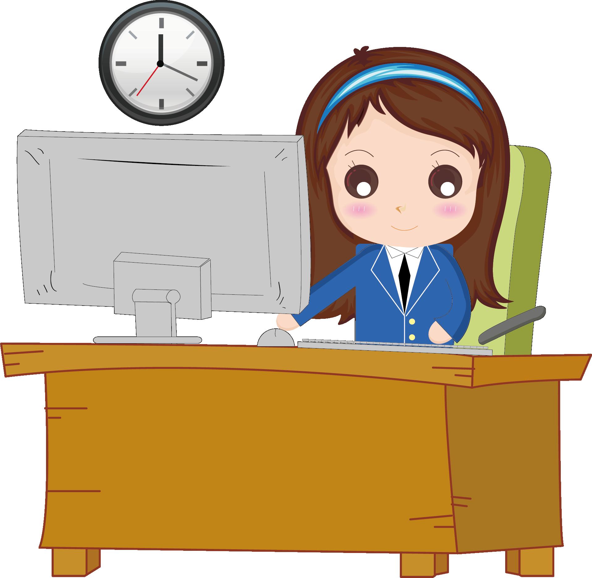 Jobs clipart main office. Cartoon ueueueuecueueueuedueueuebueueue work png