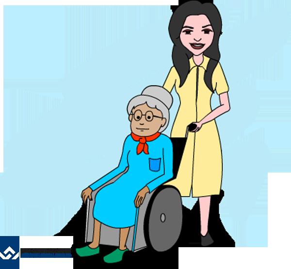 Job clipart skilled worker. Live in caregiver work