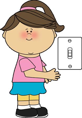 Lunchbox clipart school job. Girl classroom lights clip